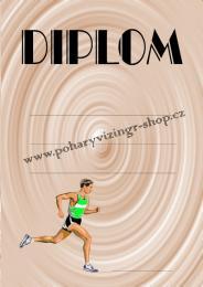 Atletika diplom A4 č.10 - zvětšit obrázek