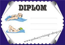 Plavání diplom A4 č.10 - zvětšit obrázek