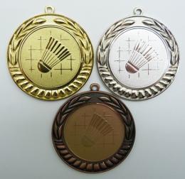 Badminton medaile D89-34 - zvětšit obrázek