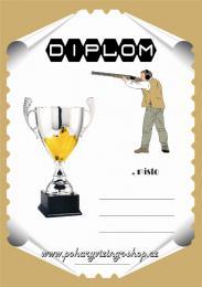 Střelci diplom A4 č.34 - zvětšit obrázek