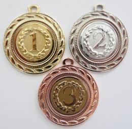 Medaile pořadí D109-A67-9 - zvětšit obrázek
