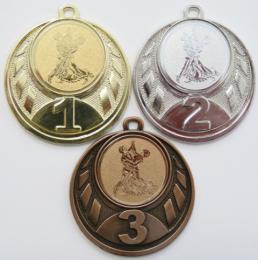 Tanec medaile D43-N30 - zvětšit obrázek