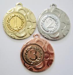 Medaile pořadí DI4002-A67-9 - zvětšit obrázek