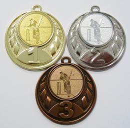 Kriket medaile D43-112 - zvětšit obrázek