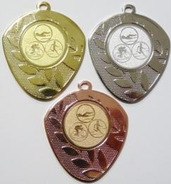 Triatlon medaile D107-74 - zvětšit obrázek
