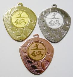 Gymnastika medaile ženy D107-151 - zvětšit obrázek