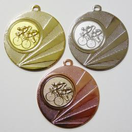 Cyklisti medaile D112H-A16 - zvětšit obrázek