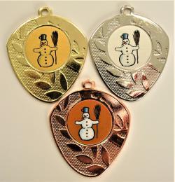 Sněhulák medaile D107-L117 - zvětšit obrázek
