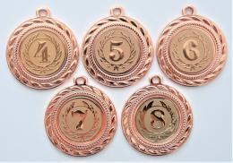 Medaile s pořadím D109-169-73 - zvětšit obrázek