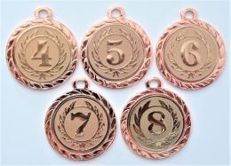 Medaile s pořadím DI3206-169-73 - zvětšit obrázek
