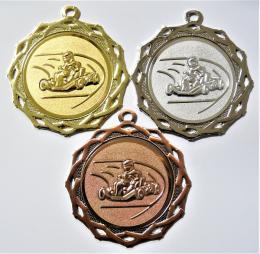 Motokáry medaile DI7003-A81 - zvětšit obrázek
