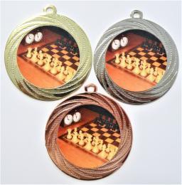 Šachy medaile DI7001-L222 - zvětšit obrázek