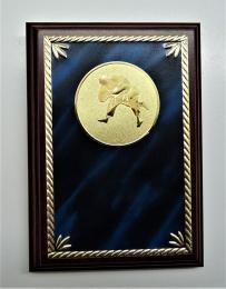 Judo plaketa H122-G181-77 - zvětšit obrázek