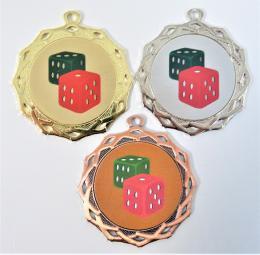 Kostky medaile DI7003-L57 - zvětšit obrázek
