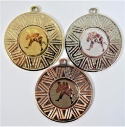 Judo medaile DI5007-77 - zvětšit obrázek