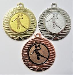 Házená žena medaile DI4001-8 - zvětšit obrázek