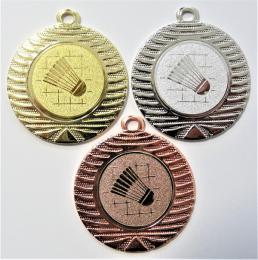 Badminton medaile DI4001-34 - zvětšit obrázek