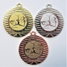 Gymnastika moderní medaile DI4001-141 - zvětšit obrázek
