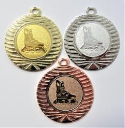 Kolečkové brusle medaile DI4001-149 - zvětšit obrázek