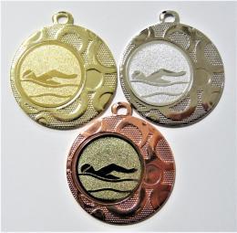Plavání medaile DI4002-15 - zvětšit obrázek