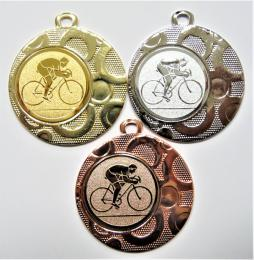 Cyklista medaile DI4002-71 - zvětšit obrázek