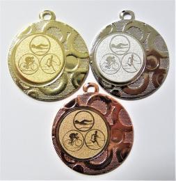 Triatlon medaile DI4002-74 - zvětšit obrázek