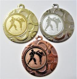Karate medaile DI4002-78 - zvětšit obrázek