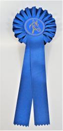 Koně kokarda R100-modrá - zvětšit obrázek