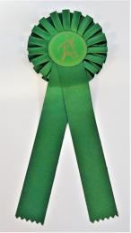 Koně kokarda R100-zelená - zvětšit obrázek
