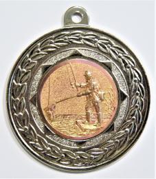 """Rybáři medaile """"ZA ÚČAST"""" D17A-A80-stříbro - zvětšit obrázek"""
