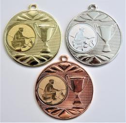 Rybář břeh medaile DI5003-59 - zvětšit obrázek