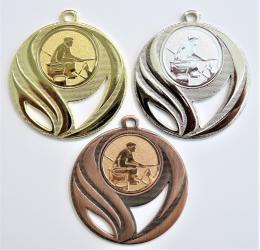 Rybář břeh medaile DI5006-59 - zvětšit obrázek