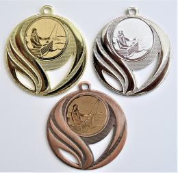 Rybář loďka medaile DI5006-60 - zvětšit obrázek
