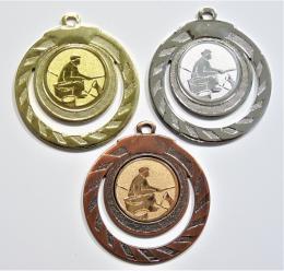 Rybář břeh medaile ME.098-59 - zvětšit obrázek