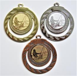 Rybář loďka medaile ME.098-60 - zvětšit obrázek