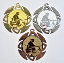 Rybář břeh medaile ME.099-59 - zvětšit obrázek