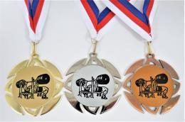Benchpress medaile KOMPLET ME.099-L7 - zvětšit obrázek